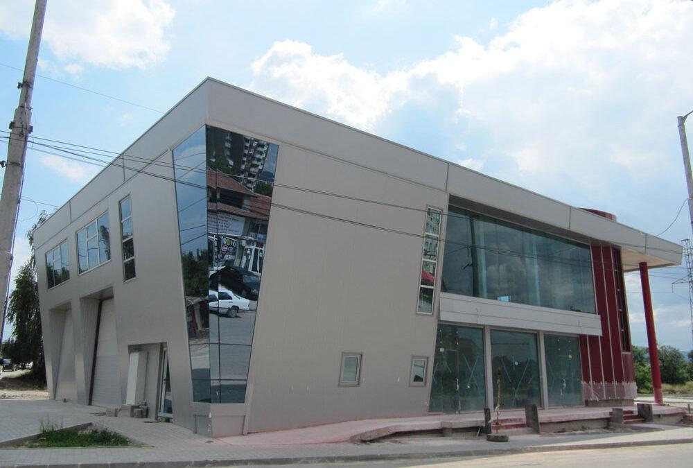 Контролно-диагностичен пункт с магазини и офиси на ул. Благой Гебрев отвори врати за своите клиенти